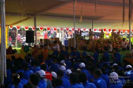Morning ceremony on Vaisak day