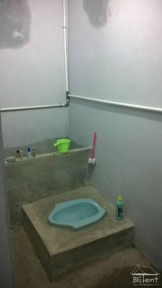 Bathroom in Indonesia