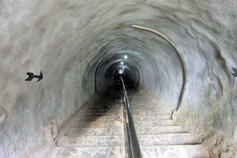 Japanese tunnel