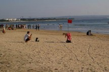Fun in Kuta beach