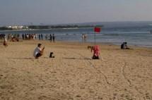 Fun in Kuta beach