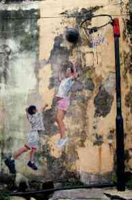 Children Playing Basketball