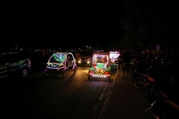 Yogyakarta night drive