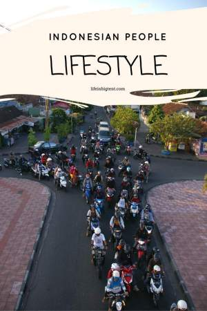 Lifestyle of Indonesian people
