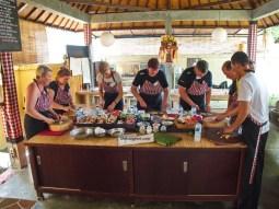 Maisto gaminimas Balyje