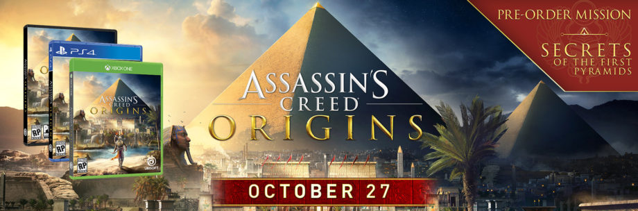 ¡Assassins Creed Origins! y sus ediciones especiales