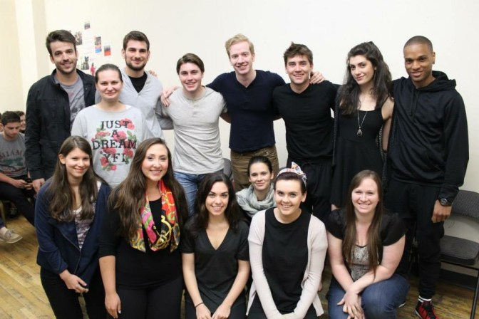 The Stella Adler Summer Conservatory Course class 2015