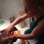 Ett första försök till egen Sushi
