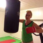 Lite boxning för bättre humör