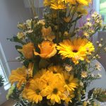 Levande blommor