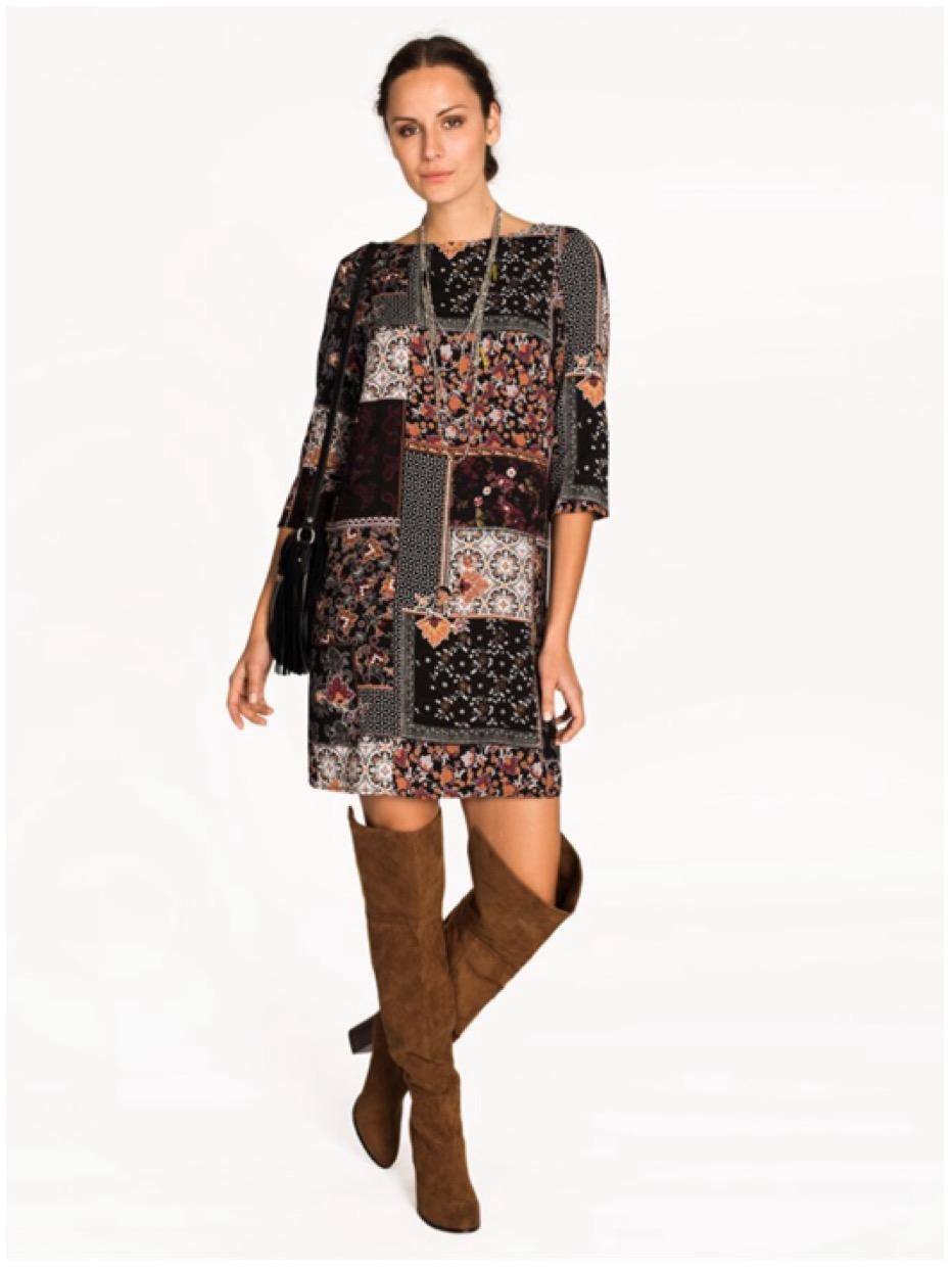 Höstklänningar i dova vackra mönster min guide om du vill