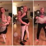 Inte en helt vanlig fredag – Disco och träning