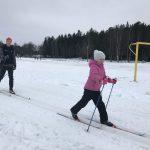 Skidor och mycket tankar