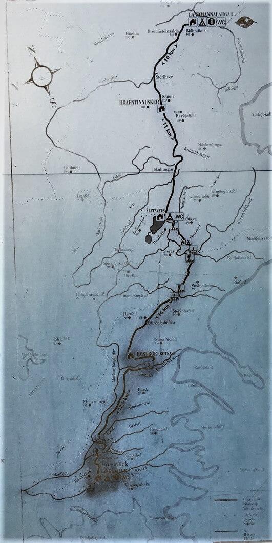 Map Islande
