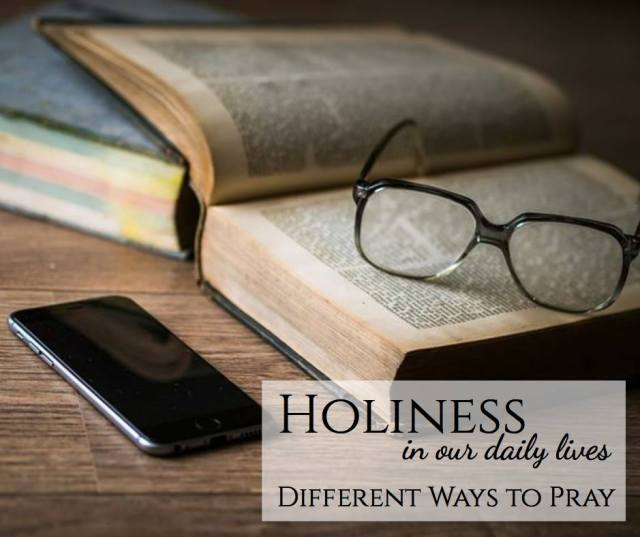 holiness in our daily lives