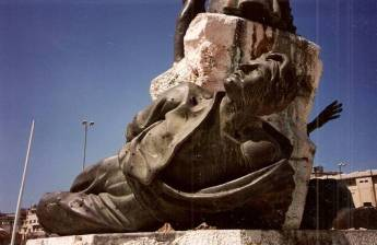 Statue in Beirut