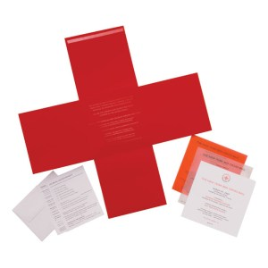 Red Cross Invitaton