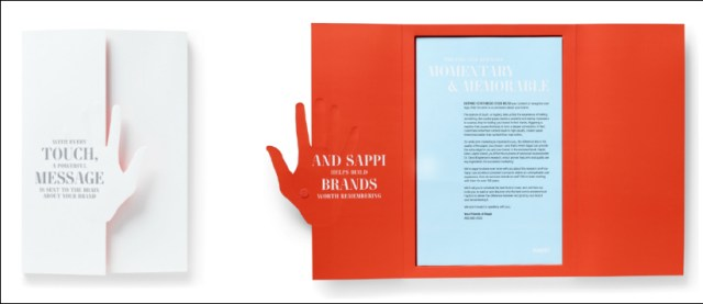 Haptic Brain, Haptic Brand explores the neuroscience underlying how tactile stimuli associated with paper and printing influences how we absorb and retain information, and how we perceive a brand or a company.