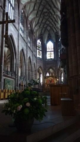 Freiburg Münster - beautiful, dark gothic arches and a medieval spire!