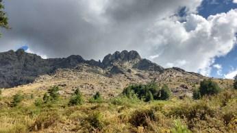 Beautiful granite peaks :D