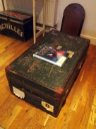 Vintage trunk, The Gallivant, Rye