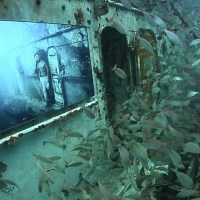 Dive to experience art at the USS Mohawk