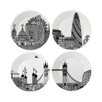 Home pick: London Calling plates from Charlene Mullen for Royal Doulton