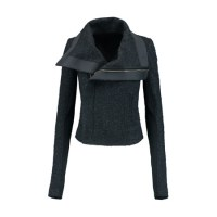 Fashion pick: Wool blend boucle jacket from Rick Owens