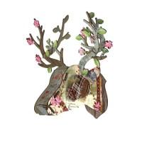 Design pick: Miniature bonsai deer head ornament from Miho