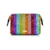 Accessories pick: Rainbow sequin wash bag from Skinnydip