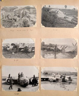 Damaged Planes, China
