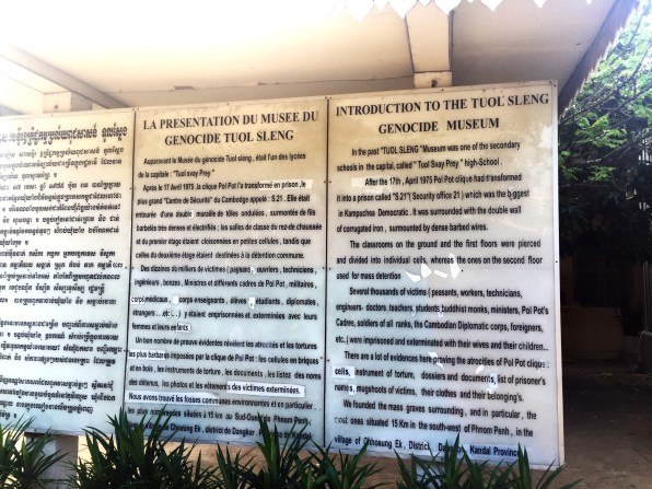 The Tuol Sleng Genocide Museum, Phnom Penh