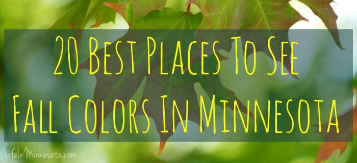 20 Best Places To See Fall Colors In Minnesota