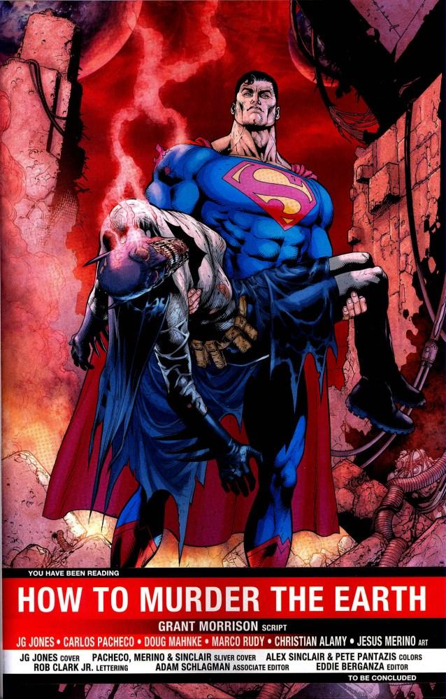 Batman is Dead in Final Crisis #6 (2/2)