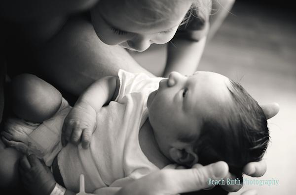 Beach Birth Photography - 2013 International Association of Professional Birth Photographers Photo Contest