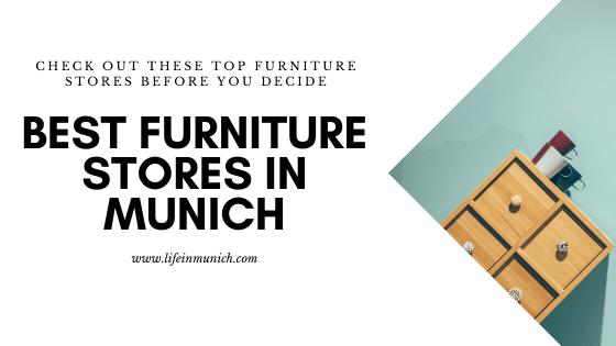Best Furniture Stores In Munich Life In Munich