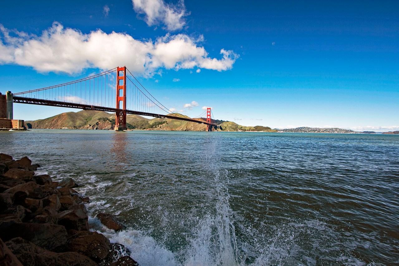 Clouds GG Bridge 1