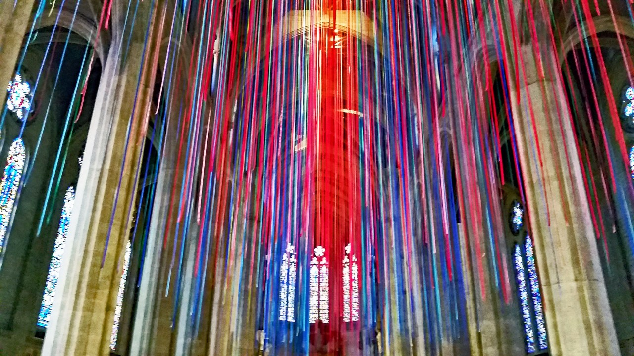 Streamers Grace Cathedral