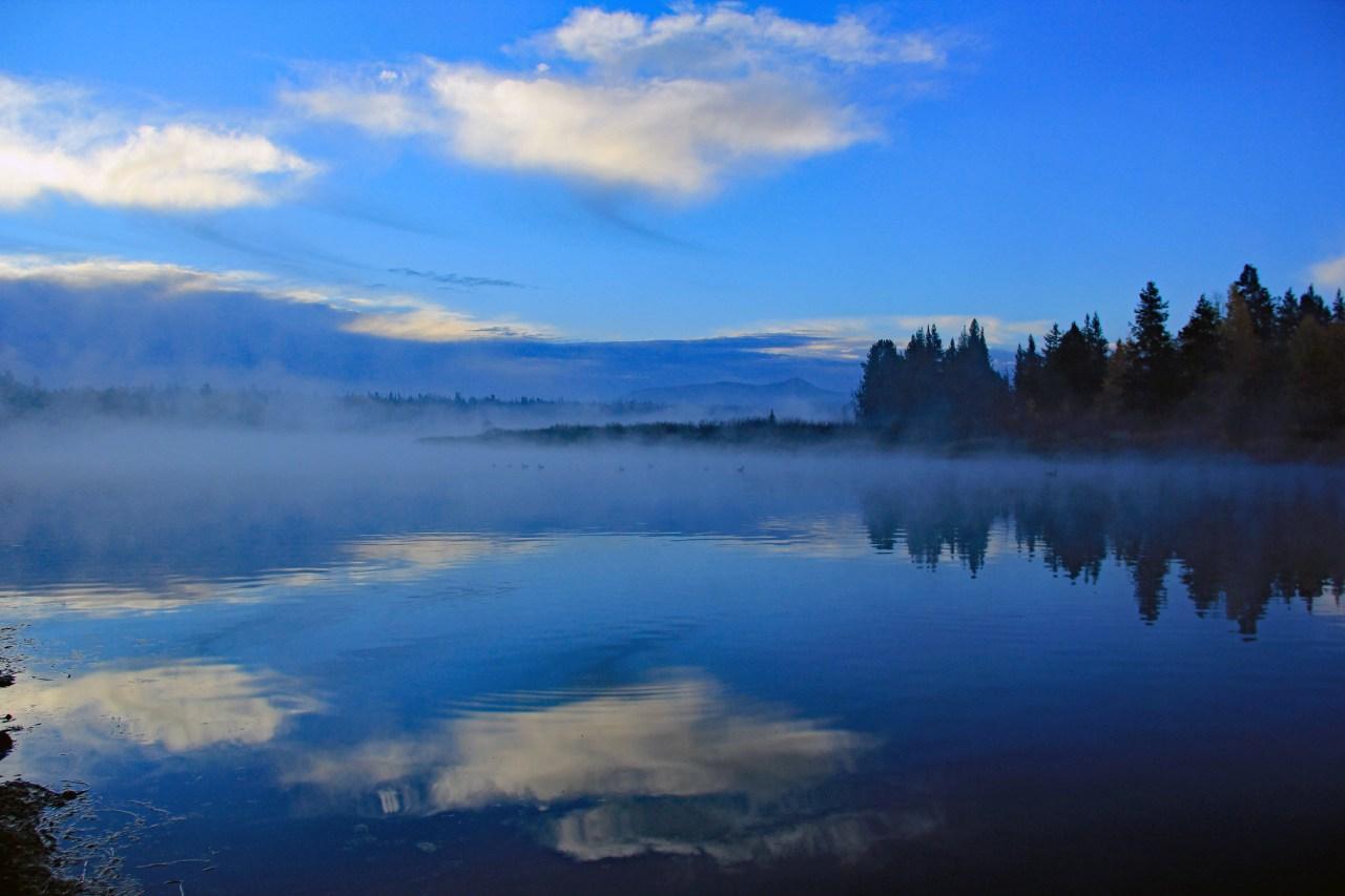 Fog on the Snake River