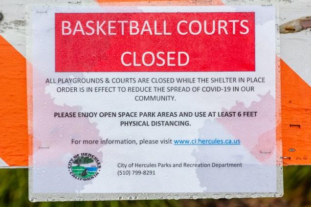 Basketball closed