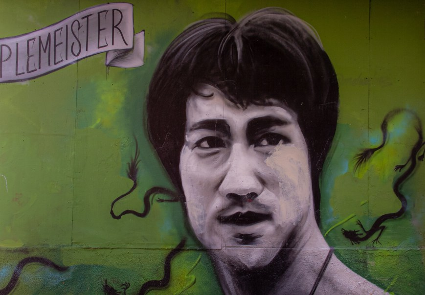 Bruce Lee Kerouac Alley