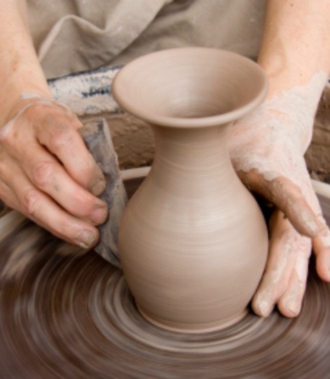 Clay in the Potter's Hand.