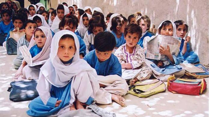 Balochistan school children