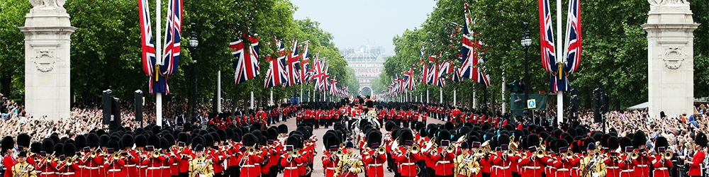 Festividades en Reino Unido: Trooping the Colour