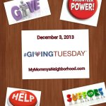 Giving Tuesday and Everyday