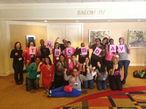 I met these great fighters at the C4YW Conference.