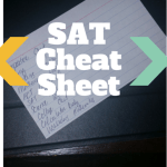 How to Deal with The New SAT- A Cheat Sheet