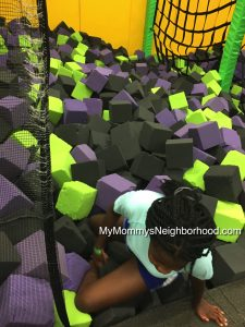 Get Air- Liza Foam Blocks