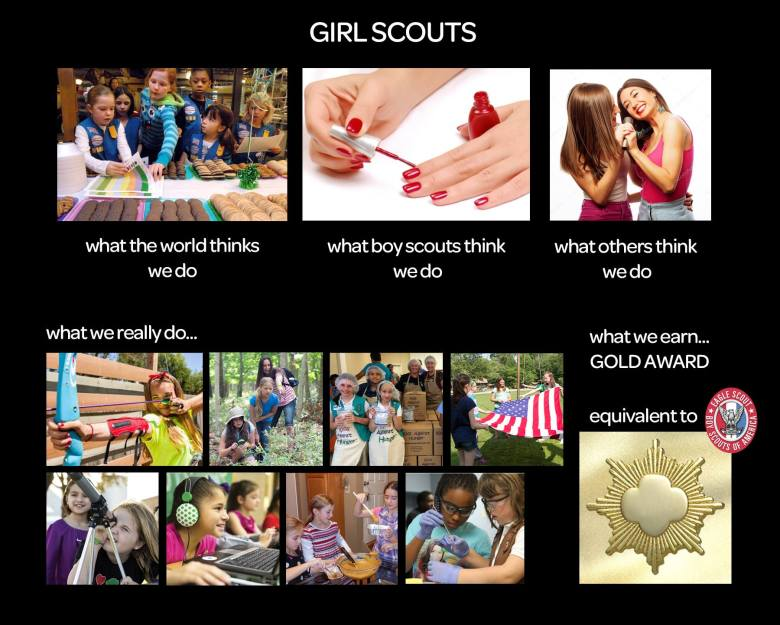 My Daughter, the Boy Scout 2
