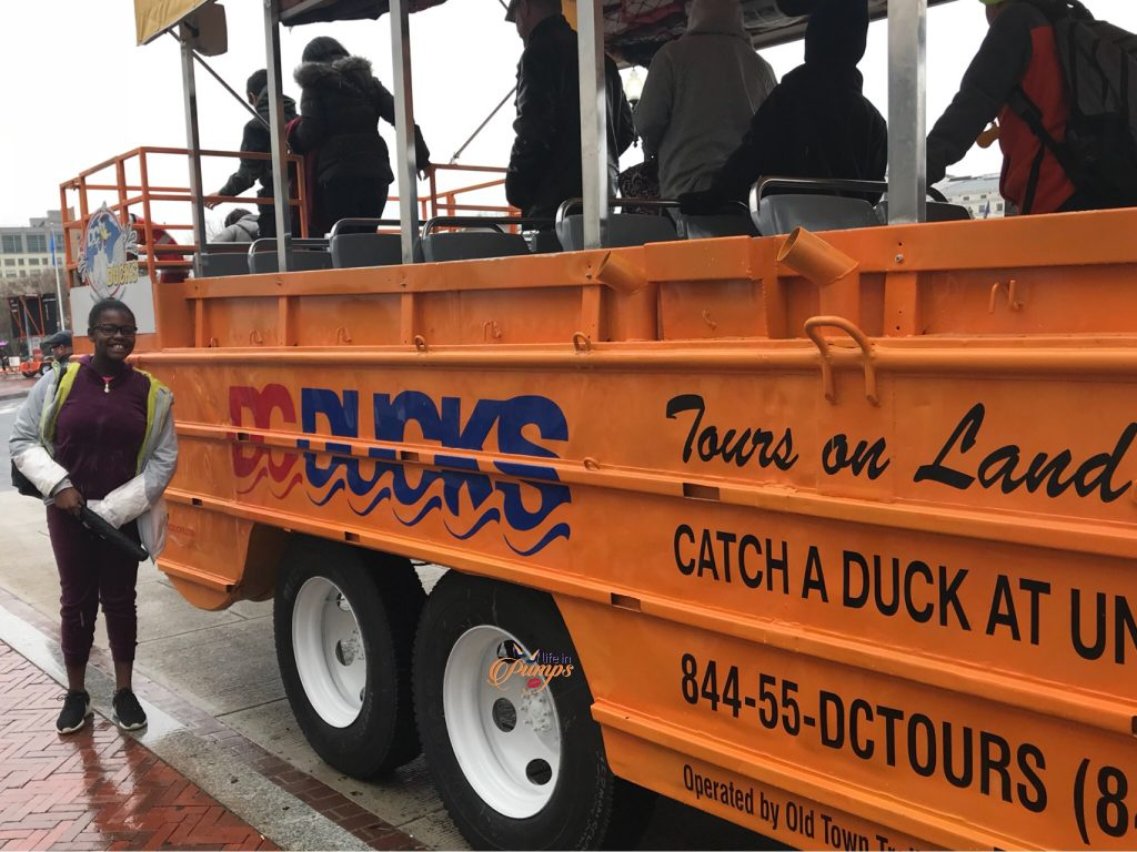 DC Duck Tours- Life in Pumps